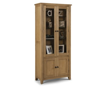 Dexter Oak Display Cabinet