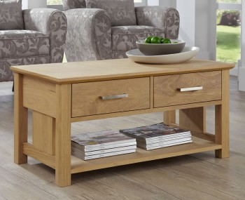 Harrington Oak Coffee Table
