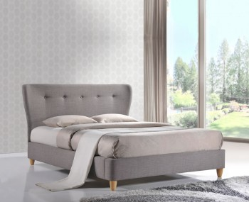 Olympia 5ft Grey Upholstered Bed Frame *Special Offer*