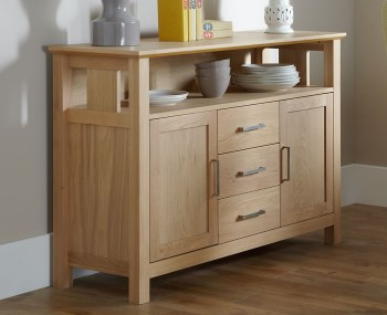 Harrington Oak Large Sideboard