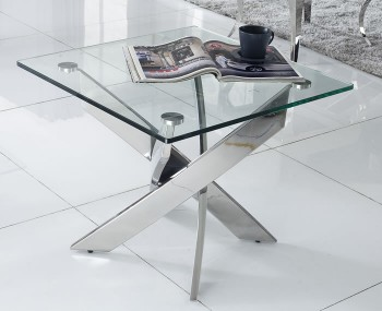 Linsdale clear glass coffee table linsdale clear glass lamp table aloadofball Gallery