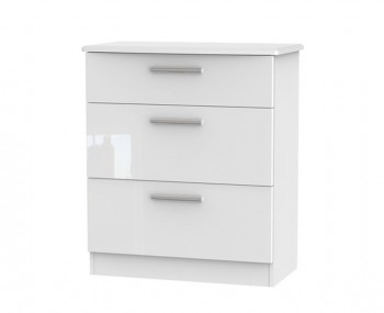 Bishop Kashmir High Gloss 3 Drawer Chest