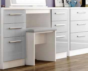 Bishop Kashmir High Gloss Double Dressing Table