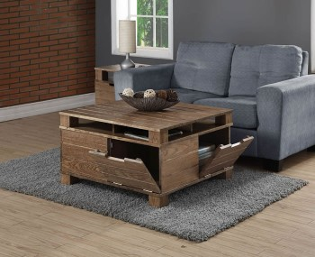 Cologne Rustic Oak Coffee Table