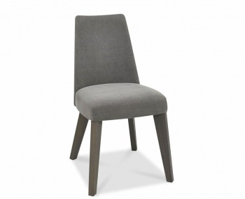 Cadell Oak And Smoke Grey Upholstered Dining Chair