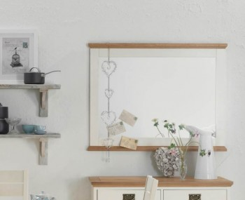 Provence Two Tone Wall Mirror