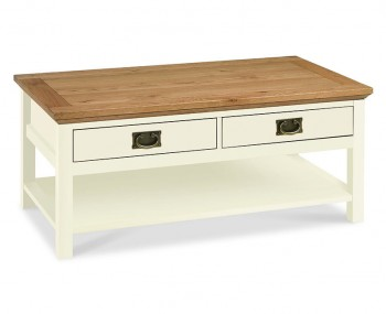 Provence Two-Tone Coffee Table
