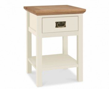 Provence Two-Tone Lamp Table