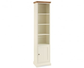 Provence Two Tone Narrow Bookcase