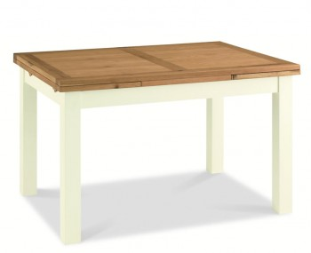 Provence Two Tone Large Extending Dining Table