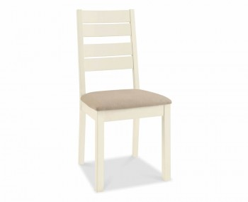 Provence Two-Tone Slatted Dining Chairs