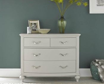 Montreux Soft Grey 2+2 Drawer Chest