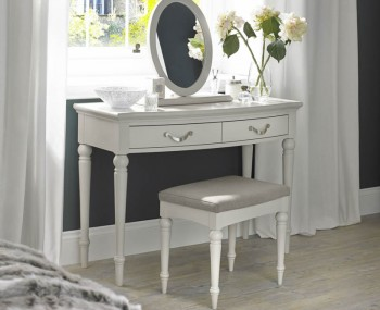 Montreux Single Soft Grey Dressing Table