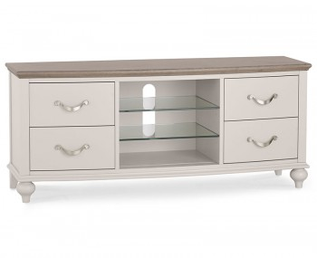 Montreux Grey Two-Tone Entertainment Unit