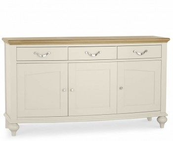 Montreux Antique White Wide Sideboard
