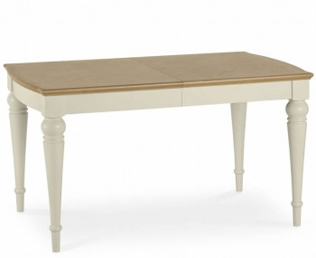 Montreux Antique White 140cm Extending Dining Table