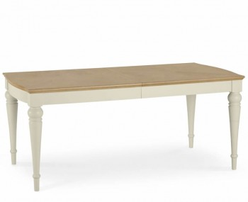 Montreux Antique White 180cm Extending Dining Table