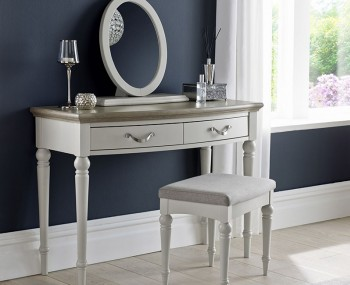 Montreux Single Grey Two-Tone Dressing Table