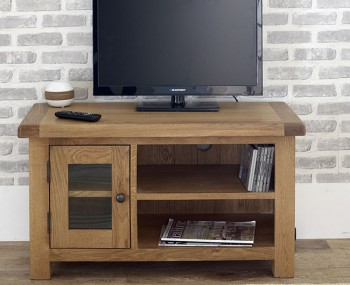 Priory Oak Small TV Unit