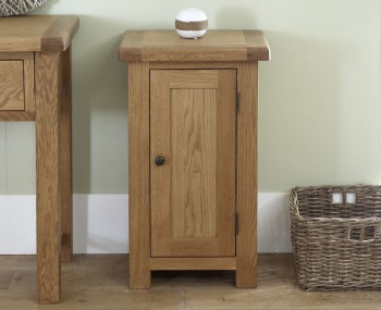 Priory Oak 1 Door Cabinet