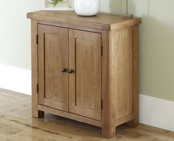 Priory Oak 2 Door Cabinet