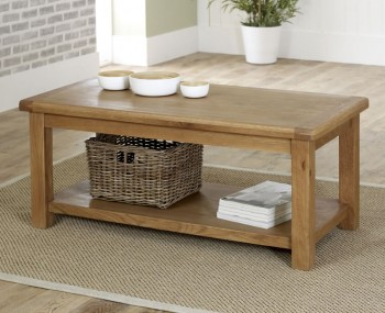 Priory Oak Large Coffee Table