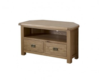Priory Oak Corner TV Unit