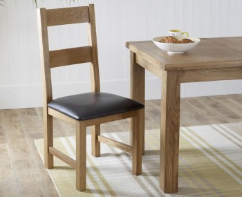 Priory Oak Ladder Back Dining Chair