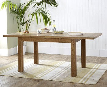 Priory Oak Large Extending Dining Table