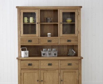 Priory Oak Large Dresser Top