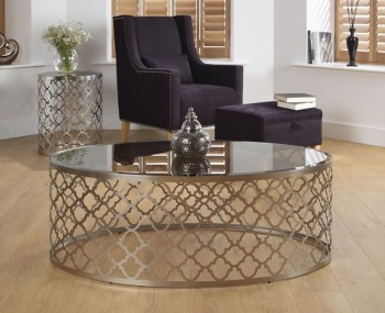 Bianca Smoked Glass Coffee Table
