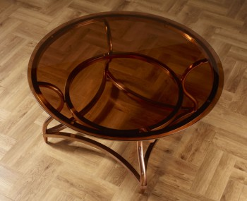 Juliet Smoked Glass Coffee Table