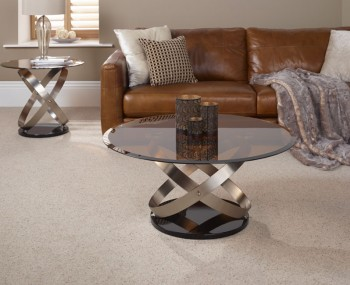 Miranda Smokey Glass Coffee Table