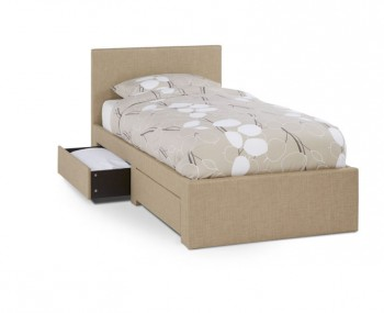 Scarlett Wholemeal Upholstered Bed