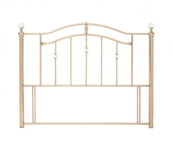 Ashley Rosegold Metal Headboard