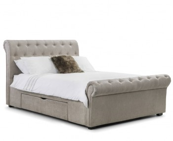Ravelli Mink Storage Bed
