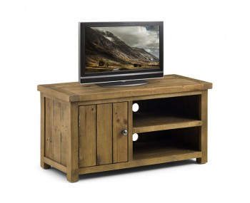 Aspen Solid Pine TV Unit