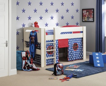 Pluto Blue Sleeper Kids Bunk Bed