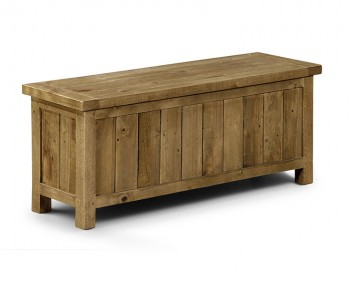 Aspen Solid Pine Storage Bench