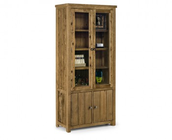 Aspen Solid Pine Display Cabinet