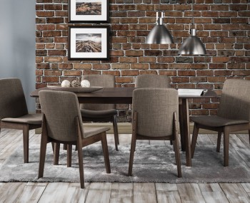 Lexham Walnut Extending Dining Set