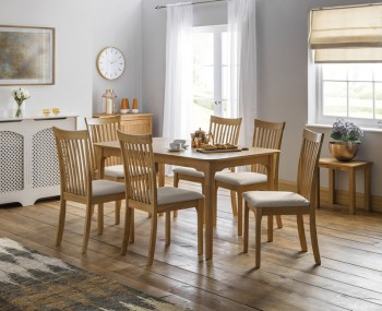 Ibsen Oak Extending Dining Set