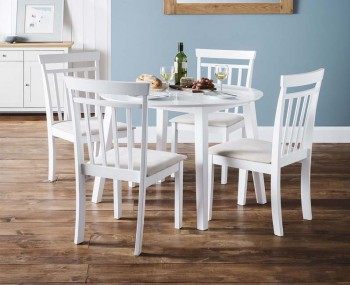 Coast White Drop Leaf Table