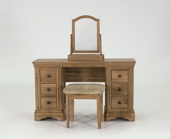Harmony Premium Oak Dressing Table