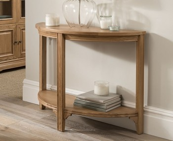Harmony Premium Oak Console Table