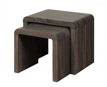 Deloro Charcoal Oak Nest of Tables
