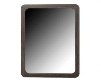 Deloro Charcoal Oak Wall Mirror