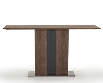 Killister Walnut Veneer Console Table