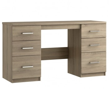 Parco Bardolino Oak Double Dressing Table