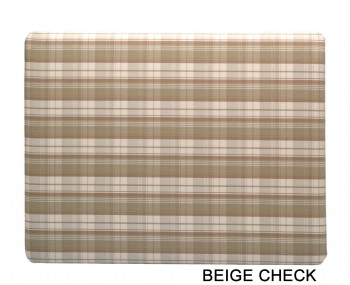 Isadora Check Upholstered Headboard